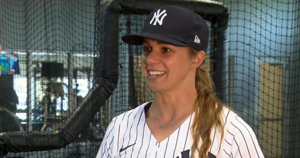 First female Yankees hitting coach describes her long journey to the top